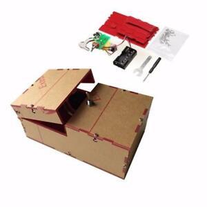 Useless Box Diy Kit Machine Birthday GiftToy Geek Gadget Gags- FREE SHIPPING