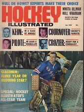 Hockey Illustrated Magazine January 1968 Ed Giacomin 102317nonjhe