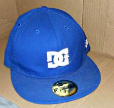 DC Shoe Co USA Logo 59Fifty New Era Cap Size 7 1/4 - Dark Blue & White