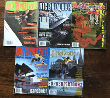 Big brother skateboard magazine 1998 5 Issue Lot June - October