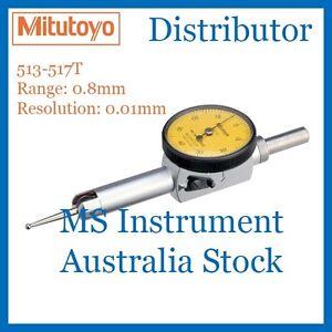 Genuine Mitutoyo 513-517T Pocket Dial Test Indicator |Full Set | Australia Stock