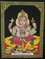 Lord Ganesha Ganpati Indian Tapestry Wall Hanging Throw Poster hippy hippie Flag