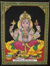 Lord Ganesha Ganpati Indian Tapestry Wall Hanging Throw Poster hippy hippie Flag
