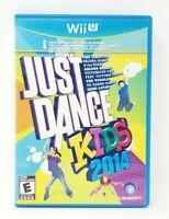 Just Dance Kids 2014 Nintendo Wii U Game