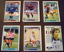 LOTTO 14 CARD SCORE '92 + 5 CARD SCORE '93 campionato calcio bustina RARE!