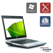 HP EliteBook 2560P Laptop  i5-2520 4GB 250GB Win 7 Pro 1 Yr Wty B v.AAW