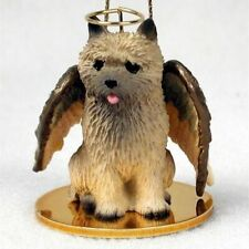 Small Angel Cairn Terrier Wheaten Dog Breed Angel Christmas Ornament