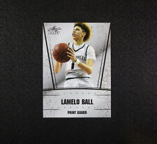 2018 Leaf Draft Lamelo Ball Card DS-29 Chino Hills Ball In The Family Melo
