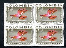 Colombia C572, MNH,  Mormodes Rolfeanum Orchid Flower . x23629