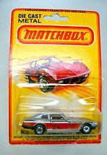 Matchbox SF Nr. 67C Datsun 260Z silbermetallic top in Blisterpackung