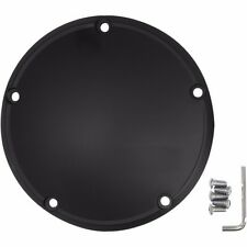 NEW Drag Specialties Satin Black 5 Hole Die Cast Domed Derby Cover Harley