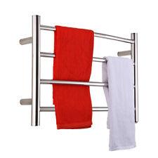 Electric Towel Warmer Curve Towel Bars Heated rack Polish Chrome Big Sale
