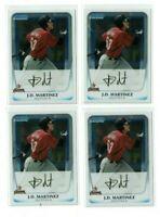 JD MARTINEZ 2011 Bowman Chrome Prospects #BCP92 4-Card Rookie Lot
