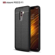 For Xiaomi Poco F1 A2 Lite Slim Soft TPU Silicone Leather Protective Case Cover