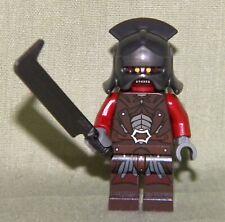 Lego URUK-KAI PLAIN HELM & SWORD Mini-Figure Loose 9471 Lord of the Rings