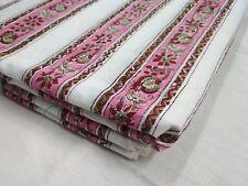 By yard hand block print fabric handicraft cotton fabric Pure cotton border ssth