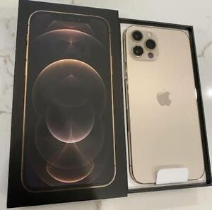 GOOD AS NEW! Apple iPhone 12 Pro 256GB Gold - Factory Unlocked