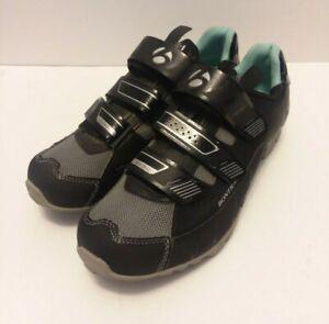 Bontrager Black Evoke MTB Womens Cycling Shoe Size 40/ US 8.5