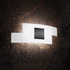 Applique in vetro bianco e nero moderno a 2 luci tpl 1121/AP-NE