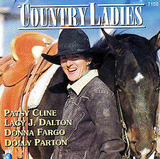 COUNTRY LADIES D.Parton, P.Cline, L.J.Dalton, D.Fargo CD NEU & OVP 19 Tracks