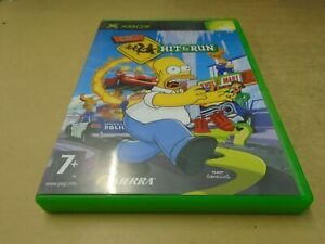 Xbox Original The Simpsons Hit And Run Disc Only