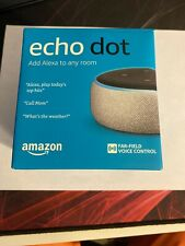 Amazon Echo Dot (3rd Generation) Smart Speaker with Alexa - Sandstone