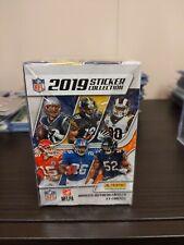 2019 Panini NFL Sticker Box.  Factory Sealed