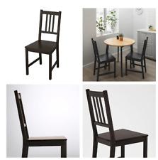 IKEA Chaise Stefan de Cuisine Salle à Manger Robuste Bois Massif Neuf