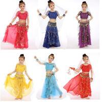 Danzcue Bollywood Little Lantern 5-Piece Children Tribal Belly Dance Costume