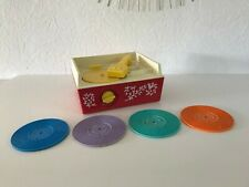 🎀  Ancien Tourne Disque Fisher Price Music Box Record Player Réf 995 Vintage