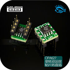 SMD TI BB OPA627AU dual op amp SOP8 fever audio op amp IC disassemble