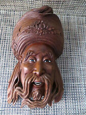 Vintage Chinese wood carving beautiful wood mask - detailed high quality #23