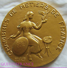 MED1843 - MEDAILLE CHAMBRE DES METIERS par GUIRAUD -  FRENCH MEDAL