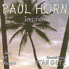 New: Paul Horn: Imprompture Live, Import Audio CD
