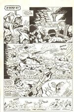 Planet of the Apes: Ape City #2 p.14 - Mowing Down Apes - 1990 art by M.C. Wyman