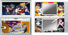 nintendo DS Lite - BEYBLADE - 4 Piece Decal / Sticker Skin vinyl cover