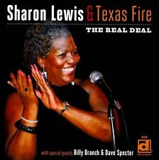 The  Real Deal by Sharon Lewis/Texas Fire (CD, Nov-2011, Delmark (Label))