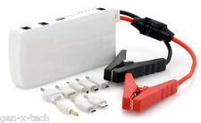 Car Jumper Cables Kit + 12000mAh iPod iPad Notebook PSP MP3 PDA Battery Charger