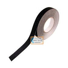 25 mm x 5 m Noir Anti Dérapant Bande Haut Adhérence Adhésif collant adossés antidérapante sécurité