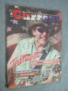 TED NUGENT Cover on Local Oklahoma Magazine 112 pages