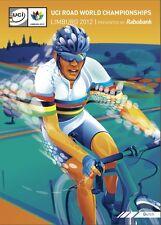 UCI ROAD WORLD CHAMPIONSHIPS LIMBURG 2012 RABOBANK PROMO POSTER