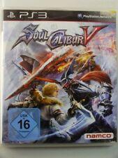 !!! PLAYSTATION PS3 SPIEL Soul Calibur V, gebraucht aber GUT !!!