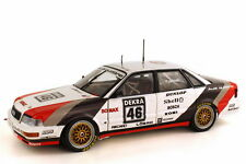 AUDI QUATTRO V8 DTM 1990 TEAM SMS FRANK JELINSKI 1/18  BY MINICHAMPS 100901046