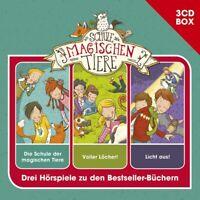 DIE SCHULE DER MAGISCHEN TIERE  TIERE-3-CD HSPBOX VOL.1  3 CD NEW