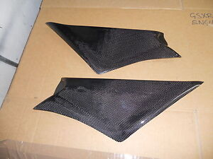 DUCATI 916 748 996 998 NEW REAL CARBON AIR BOX COVERS / SIDE PANELS £69.99