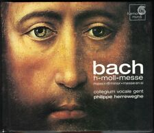 BACH Messe h-moll Mass in b minor BWV 232 Philippe HERREWEGHE 2CD Andreas Scholl