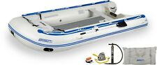 Sea Eagle 14sr Drop Stitch Deluxe Pkg 14' Inflatable Runabout Boat Dinghy Raft