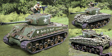 COLLECTORS SHOWCASE WW2 AMERICAN NORMANDY CS00936 U.S. SHERMAN TANK SET MIB