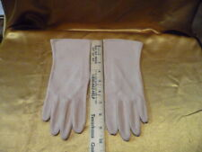 Lady's Tan Dress Gloves Holidays Weddings Formal One Size