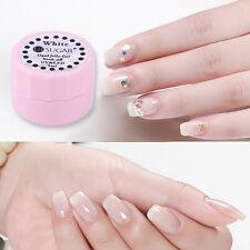 5ml Opal Jelly Gel Semi-transparent White Nail Art Soak Off Gel Polish Manicure